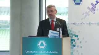 Chief Procurement Officer Paul Quinn addresses the CIF Annual Conference 2014