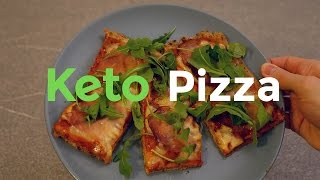 How to Make Keto Pizza | Ketogenic Diet Recipe