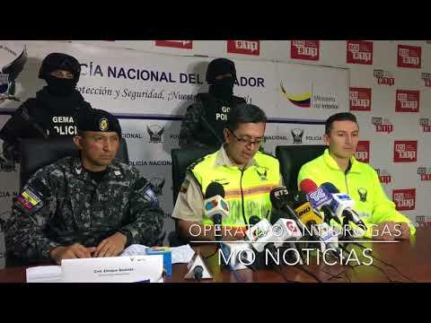 RESULTADOS DE OPERATIVOS CONTRA EL NARCOTRAFICO EN PUERTO BOLÍVAR Y PASAJE