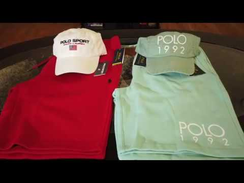 Polo Ralph Lauren Review | Lord & Taylor Shipment (SHORTS/HATS)