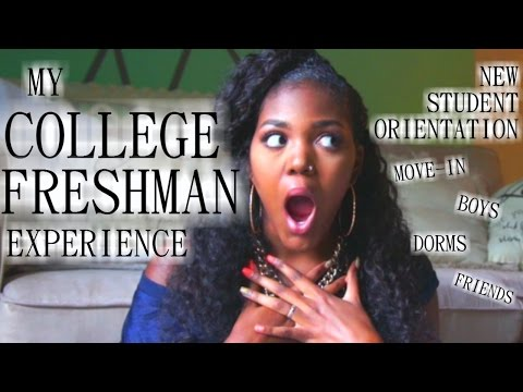 My College Freshman Experience: New Student Orientation