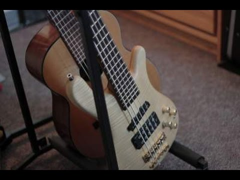 Warwick Streamer FNA Jazzman 5 Bass Guitar Demo