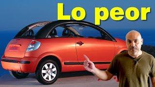 RANKING: LOS 10 PEORES COCHES DE LO QUE VA DE SIGLO (I)