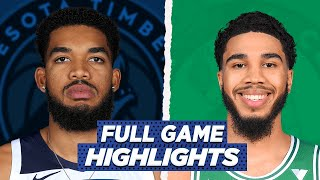 TIMBERWOLVES at CELTICS FULL GAME HIGHLIGHTS | 2021 NBA SEASON