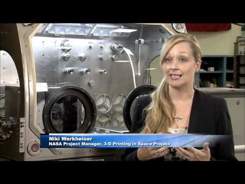 Space Station Live: Manufacturing in Space