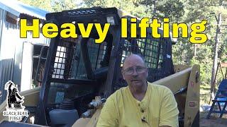 Heavy equipment to help around the blacksmith shop