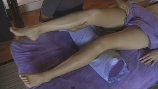 Repeat youtube video Leg & Thigh Massage: Full Body Massage Therapy Techniques 3