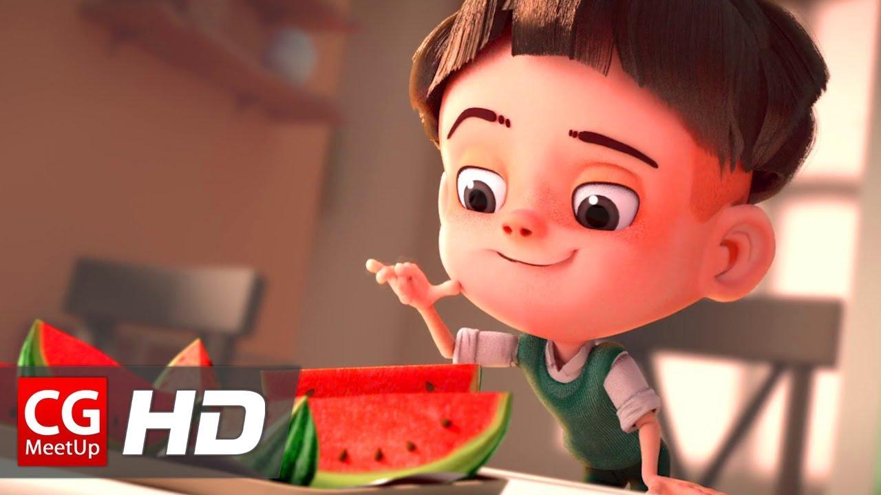 CGI Animated Short Film Watermelon A Cautionary Tale by Kefei Li u0026 Connie Qin He  CGMeetup