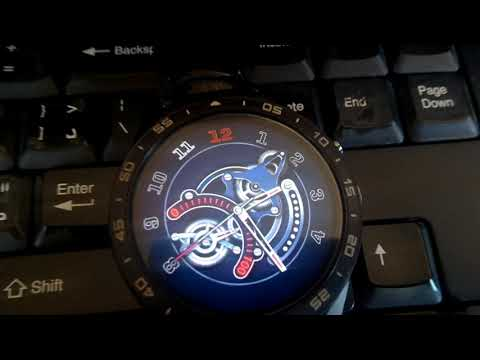 FINOW x1 watch faces, clock skin full android watch.