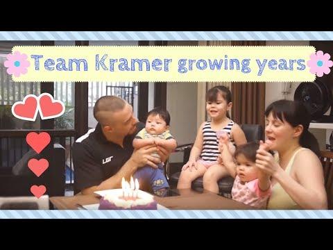 Team Kramer growing years