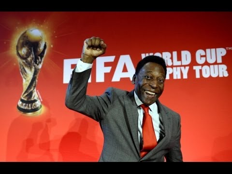 Пеле приветствует Кубок мира ФИФА в Париже (новости)