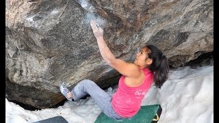 FL Athlete Juliet Hammer cruises Terrorism Arete and Riddles In The Dark in RMNP, CO!