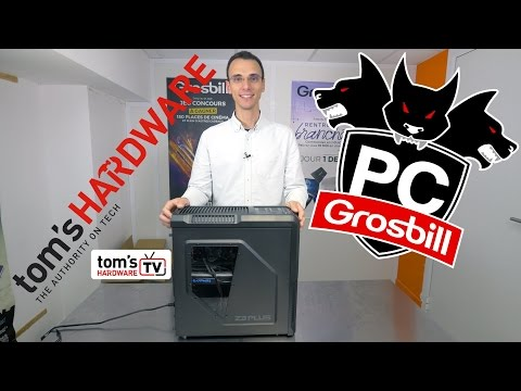 PC Gaming Tom's Hardware by Grosbill : premier montage !