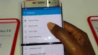 Samsung GALAXY s6 plus Ringtones