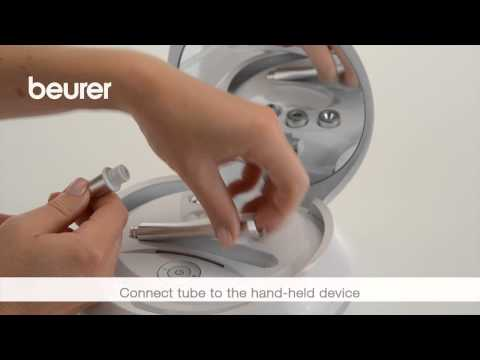 Quick start video for the FC 100 Pureo Derma Peel Microdermabrasion from Beurer