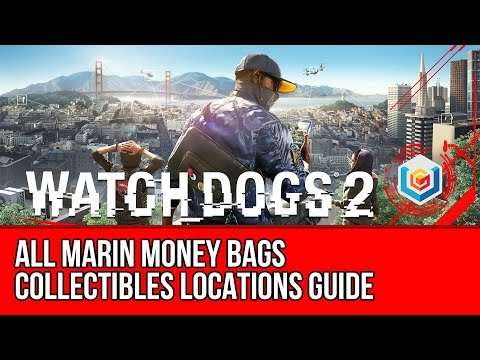 Watch Dogs 2 All Marin Money Bags Collectibles Locations Guide