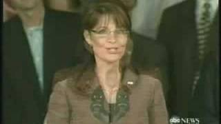Sarah Palin 20/20 ABC Interview With Charlie Gibson Part 1/4