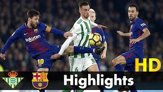 Real Betis vs Barcelona 0-5 - All Goals & Extended Highlights - La Liga 21/10/2017 HD