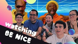 Reaction to Black Eyes Peas's BE NICE feat. Snoop Dogg || MAJELIV FAMILY REACTION 2019