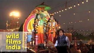 Ram and Raavan war on battle ground : Re-enactment of Ramayana