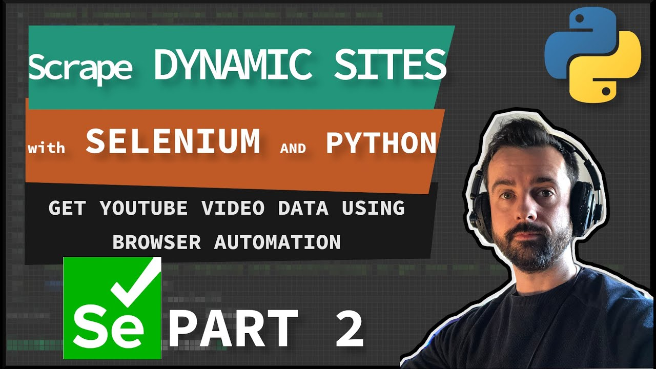 How to Scrape Dynamic websites with Selenium
