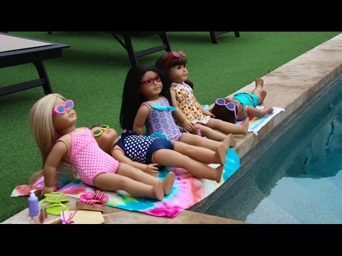 Take a Brain Break! (American Girl Doll Stopmotion)