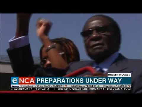 Preparations Robert Mugabe's state funeral