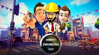 Happy Engineers day ( Animate video)