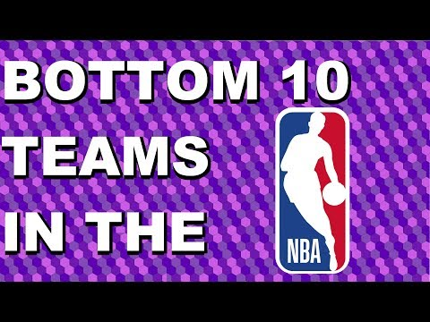 Top 10 WORST NBA Teams in 2018-19