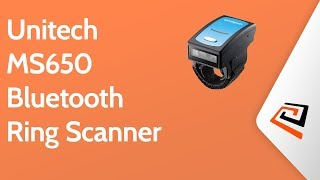 Unitech MS650 Bluetooth Ring Scanner
