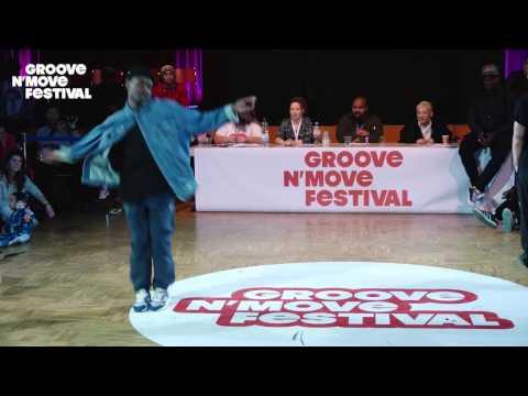 GROOVE'N'MOVE BATTLE 2017 - All Style semi-Final / Poppin C & Perla VS Jerson & Alfreda