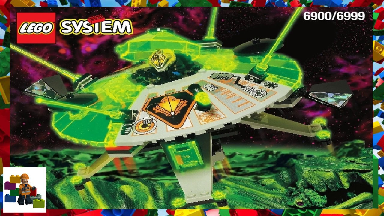LEGO instructions - Space - Ufo - 6900 - Cyber Saucer ...