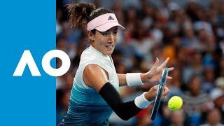 Muguruza wins tiebreak to take first set (3R) | Australian Open 2019