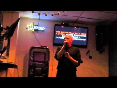 Igor sings karaoke Long Distance Runaround by Yes at Nick's Lounge Berkeley, CA,