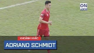 """Adriano Schmidt - """"Trung vệ thép"""" Việt kiều có xứng đáng lên tuyển?"""