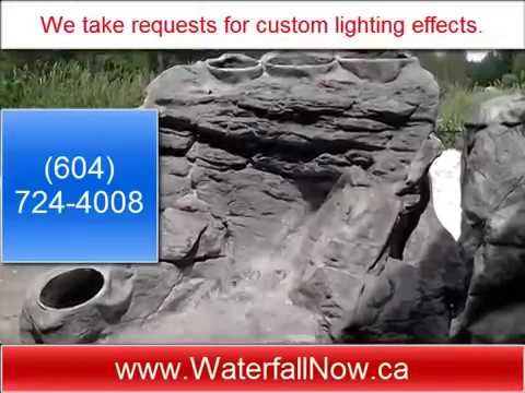 Water Fountains For The Garden - Vancouver, Surrey, BC, Canada