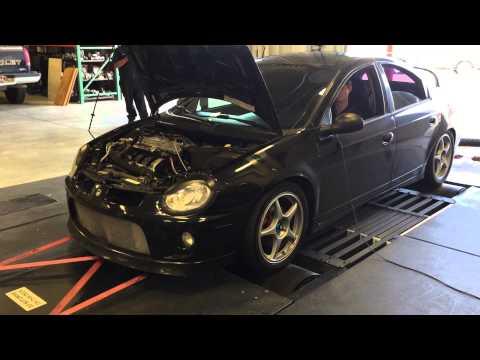 Big Turbo SRT4 dyno run