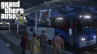 Video GTA 5: Mod Bus - Ônibus Coletivo linha LAPA download MP3, 3GP, MP4, WEBM, AVI, FLV Juli 2018