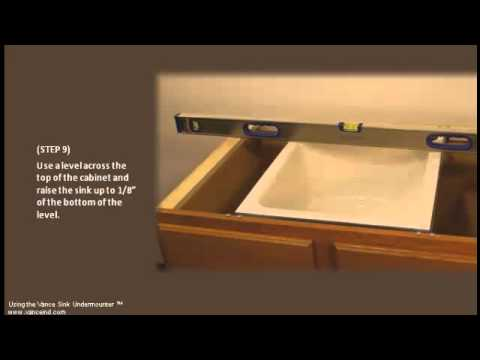 Easy Undermount Sink Installation Youtube