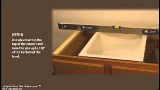 Easy Undermount Sink Installation