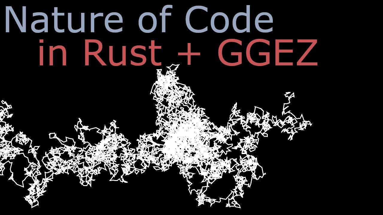 Nature of Code (Rust + GGEZ): Exercise I.4