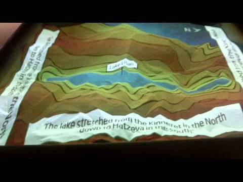 3D Augmented Reality Presentation in a Sandbox using Kinect and a projector