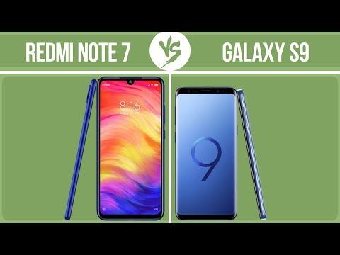 xiaomi-redmi-note-7-vs-samsung-galaxy-s9-✔️