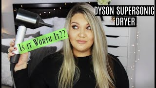 Worth it?! DYSON SUPERSONIC PROFESSIONAL HAIRDRYER   DEMO + REVIEW