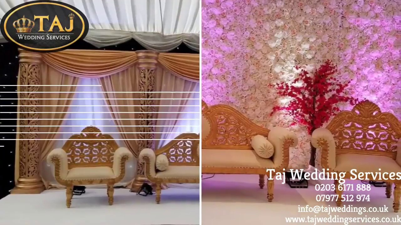 Wedding Chair Cover Hire Bedford Orange Louis Ghost Asian Indian Mehndi Stages Backdrops Lights Covers