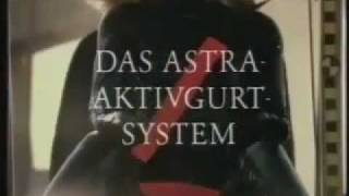 Opel Astra F 1991 - Activgurtsystem commercial
