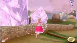 Хрустальные сады  открытие новой дороги Игра Барби / Barbie 12 Танцующих принцес