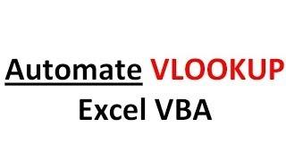 Excel VBA Basics #12 Custom Functions - Making VLOOKUP Even Easier for Coworkers