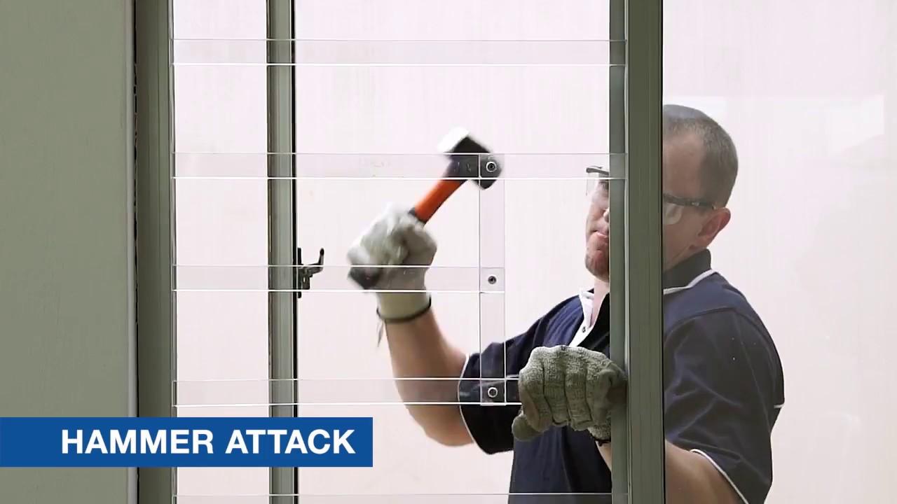 Trellidor Polycarbonate Bar Attack Test & Trellidor Polycarbonate Bar Attack Test - YouTube pezcame.com