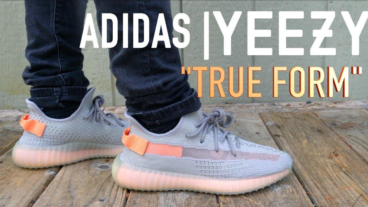 ADIDAS YEEZY BOOST 350 V2 True Form 'TrFrm' ReviewOn Feet